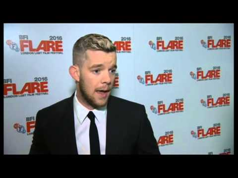 "BBC News: Russell Tovey ""The Pass"" Premiere Leicester Square"