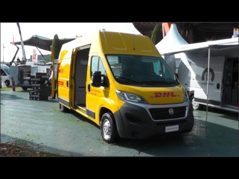 Fiat Ducato Review >> Fiat Ducato Maxi - DHL 2015 In detail review walkaround Interior Exterior - YouTube
