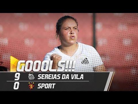 SEREIAS DA VILA 9 X 0 SPORT | GOLS | BRASILEIRÃO (13/07/19)