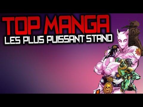 [FR] TOP MANGA - LES PLUS PUISSANTS STANDS (PARTIE 3-6)