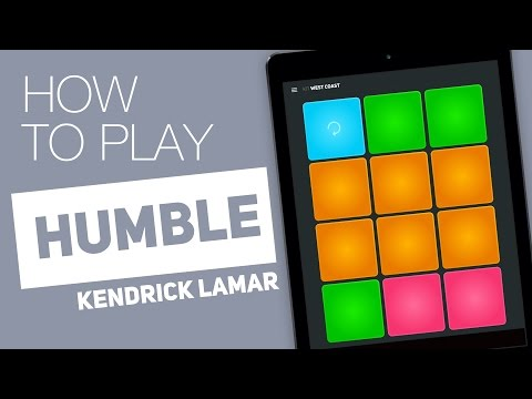 How to Play: HUMBLE. (Kendrick Lamar) - SUPER PADS - West Coast Kit