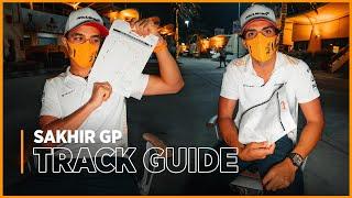 Carlos Sainz and Lando Norris dissect Bahrain's outer circuit
