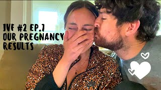 IVF #2 Ep. 7: Our pregnancy results!!!!!
