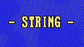 What is a String? (C# vs Python)
