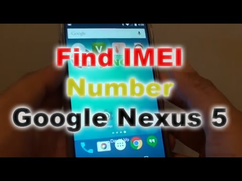 how to know imei no