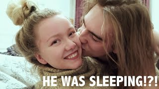 SURPRISING MY LONG DISTANCE BOYFRIEND!!