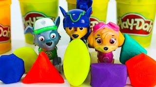 Щенячий патруль новые серии Развивающие мультики для малышей Учим фигуры и цвета Игрушки ПЛЕЙ ДО