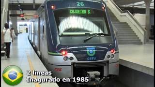Primeras Ciudades Con Metro en Sudamerica