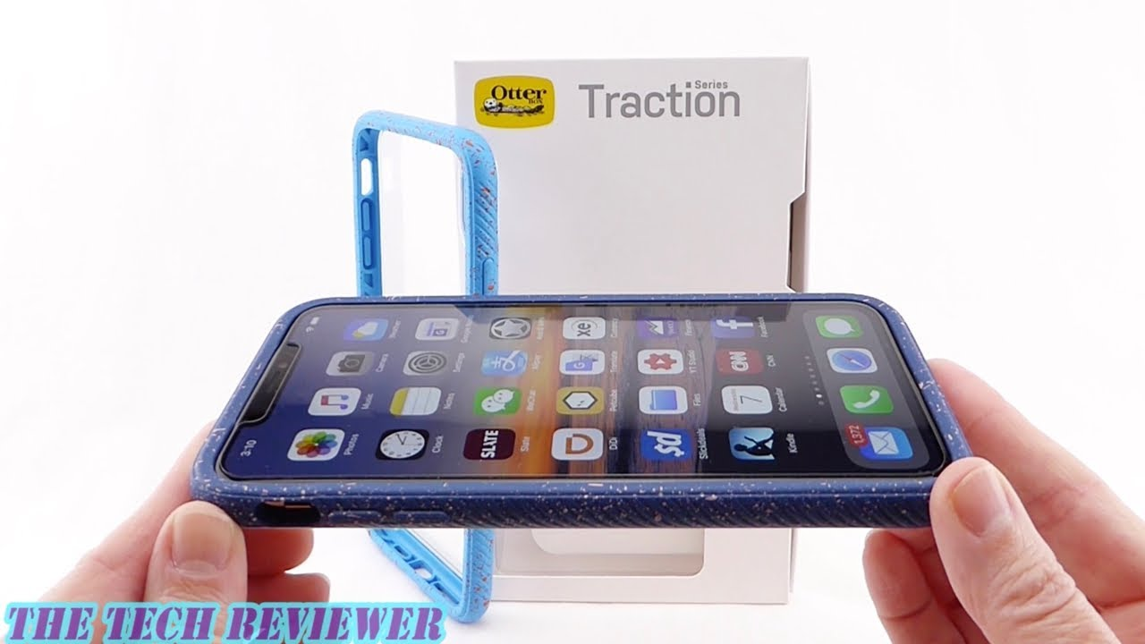 online store 78cb7 501fe Crystal Clear Back, Grippy Sides & Slim Drop Protection: *NEW* OtterBox  Traction for iPhone Xs Max!