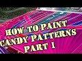 HOW TO: Paint LowRider Patterns With Candy Paint - Part 1