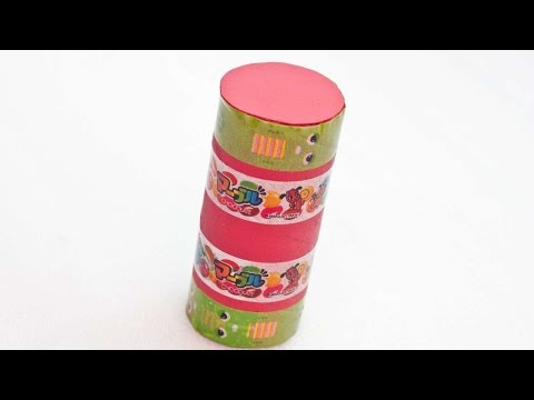 How To Create An Upcycled Toilet Paper Roll Shaker - DIY Crafts Tutorial - Guidecentral