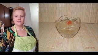 Прозрачный куриный бульон с хрусталем, старинный рецепт (19 век)