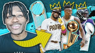 i tried to rebuild a team in NBA 2K21, MADDEN 21, and MLB THE SHOW 21