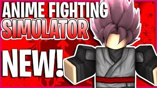 [CODE] Trying Out This NEW Roblox Anime Game Anime Fighting Simulator