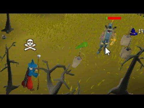 Killing Low Level Black Chin Hunters/Bots - OSRS