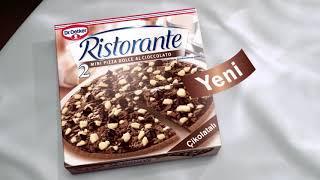 Ristorante Çikolatalı Pizza - Dr. Oetker