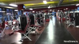 Чехия: Спортивный (фитнес) клуб в Праге [NovastranaTV]