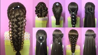 38 Easy Hair Style For Long Hair | Hairstyles Tutorials Compilation | Tết tóc đẹp #24