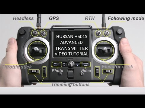 Hubsan h501s advanced transmitter video tutorial youtube for Advanced home