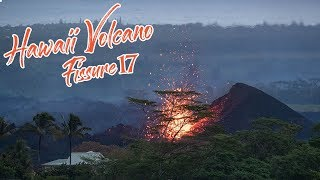 4K Hawaii Volcano Kilauea Eruption 2018 Fissure 17