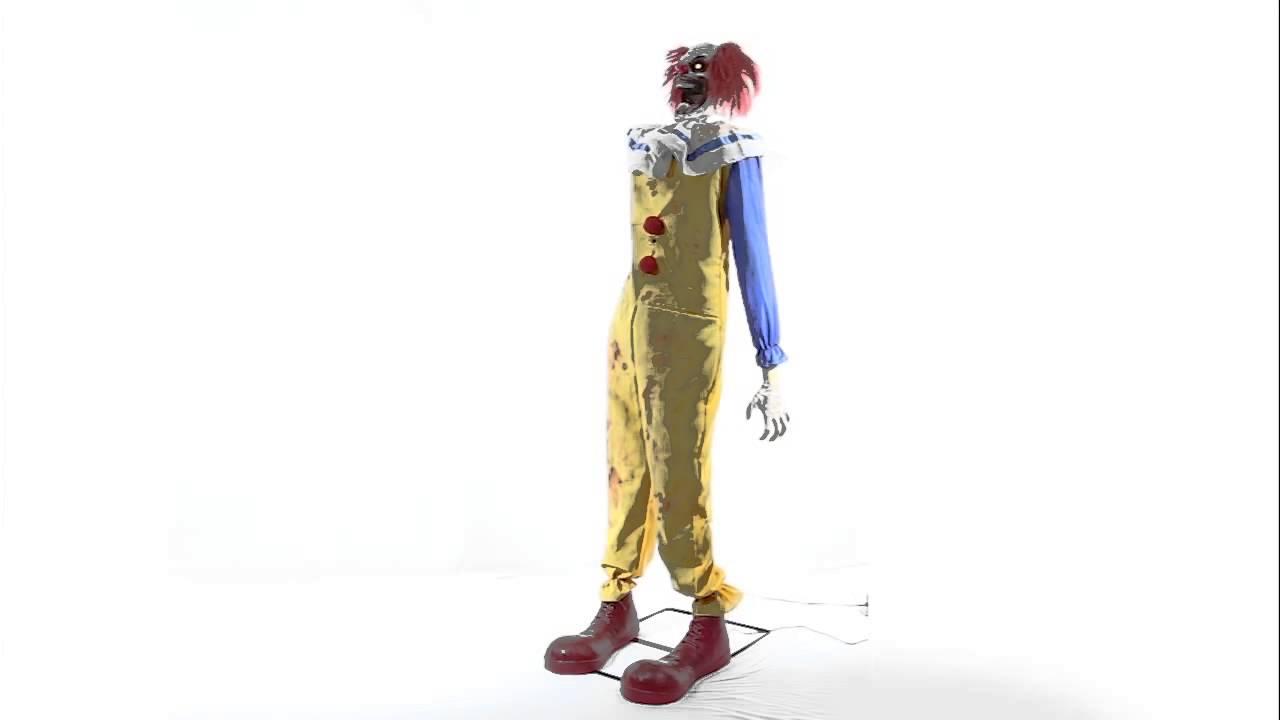 twitching clown animated halloween prop spirit halloween - Spirit Halloween Props