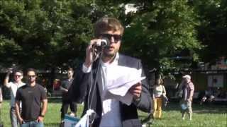 Redebeitrag Fabian Weißbarth, American Jewish Committee, Büro Berlin