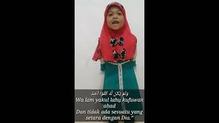 Download Mp3 Aksi Lucu Nafsi Ruwaidah Saat Membaca Surah Al-fatihah
