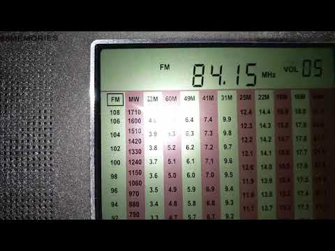 84.15 MHz FM DX-ing. FM radio from China or Japan with reception in Belarus. Unknown radio...