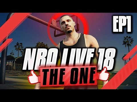 NBA LIVE 18 THE ONE GAMEPLAY - NBA Draft + The Next Klay Thompson?! | EP1