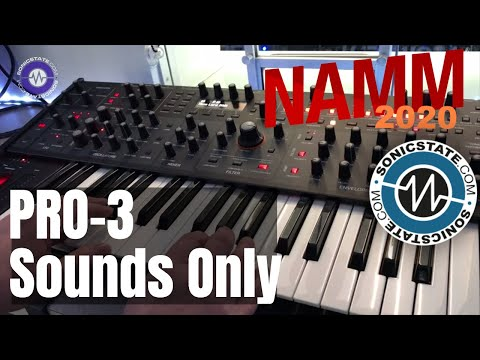 NAMM 2020 Sequential Pro 3 Sounds Only
