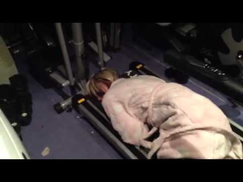 Don't Fall Asleep On Treadmill - YouTube
