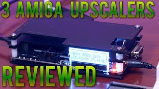 Connect your Amiga to a modern display. OSSC, Framemeister, Cheap SCART - Compared and Reviewed !
