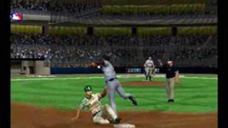 PS2 MLB 09 The Show - Giants Execute Triple Play