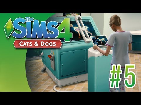 Sims 4: Cats & Dogs #5 - Doc