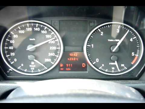 2010 Bmw 318d Top Speed Youtube