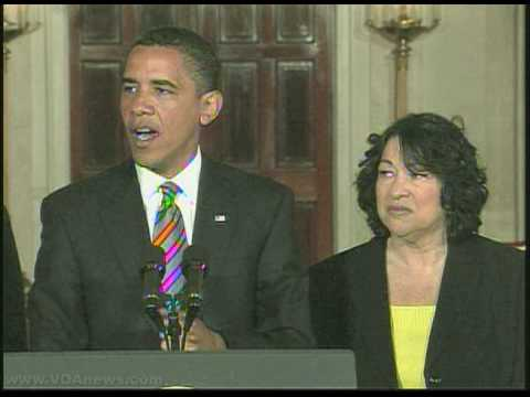 Sonia Sotomayor Nominated For Supreme Court
