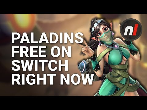 Paladins is Free to Download on Nintendo Switch Right Now