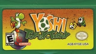 Classic Game Room - YOSHI TOPSY TURVY review for Game Boy Advance