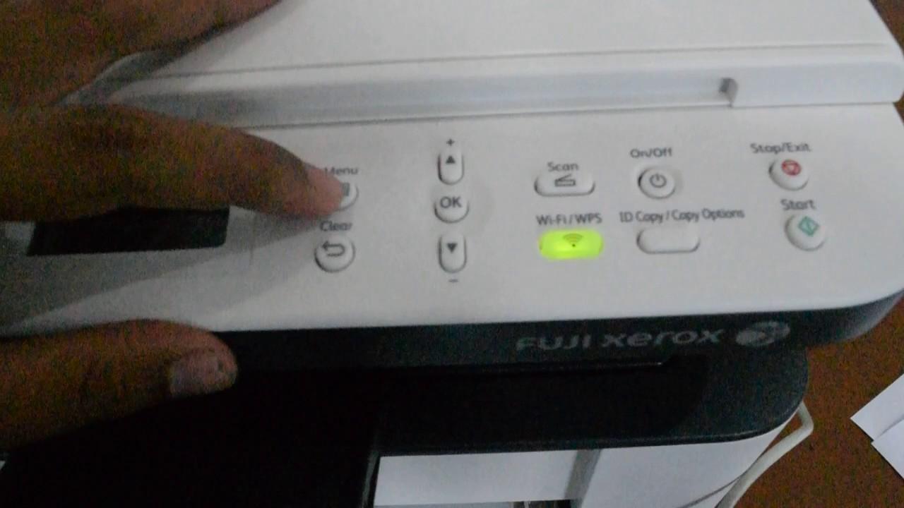 Fuji Xerox Docuprint 115w Driver Install For Network Wi Fi In