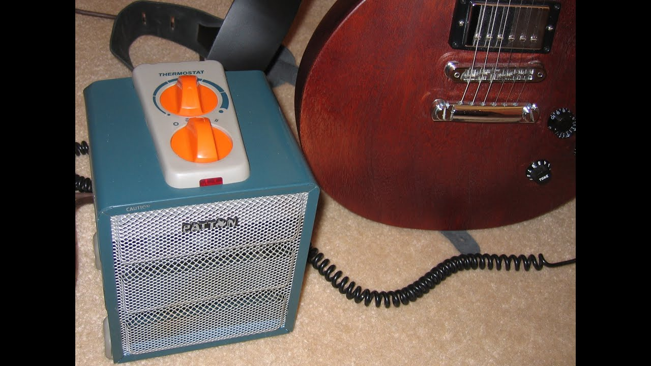Home Built Patton Space Heater Amp Small Guitar Amp