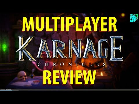 THEY ADDED CO-OP MULTIPLAYER! | Karnage Chronicles Multiplayer Review
