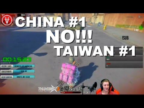 FUNNY H1Z1 TWITCH TROLL: CHINA #1 NO TAIWAN #1! || ViralYesterday