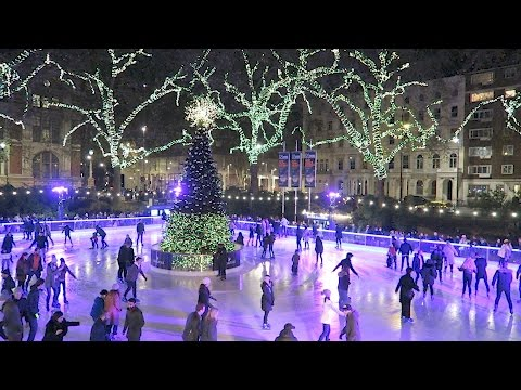 Natural History Museum Ice Skating Rink London