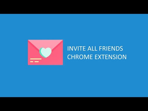 Invite all Friends on Facebook™ [FREE] - Chrome Web Store