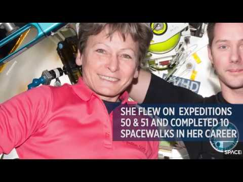 Astronaut Peggy Whitson Talks Women Role Models in New Interview