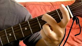 cadd9 guitar chord demonstration