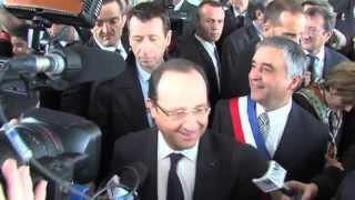 L'Actu – François Hollande aux Mureaux pour parler emploi et jeunesse