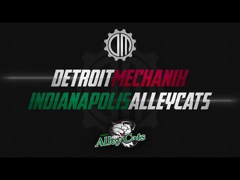 Detroit Mechanix vs Indianapolis AlleyCats