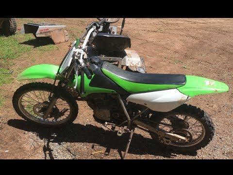 My new kawasaki klx125 Dirt bike