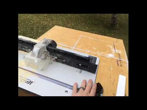 Mastercraft 9 5a Fixed Base Router And Router Table Ryan S Testimonial